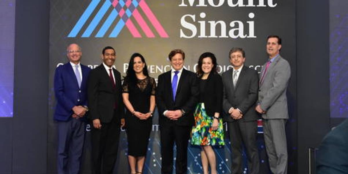 #TeVimosEn: Cardiólogos del Mount Sinai Hospital de New York realizan conferencia