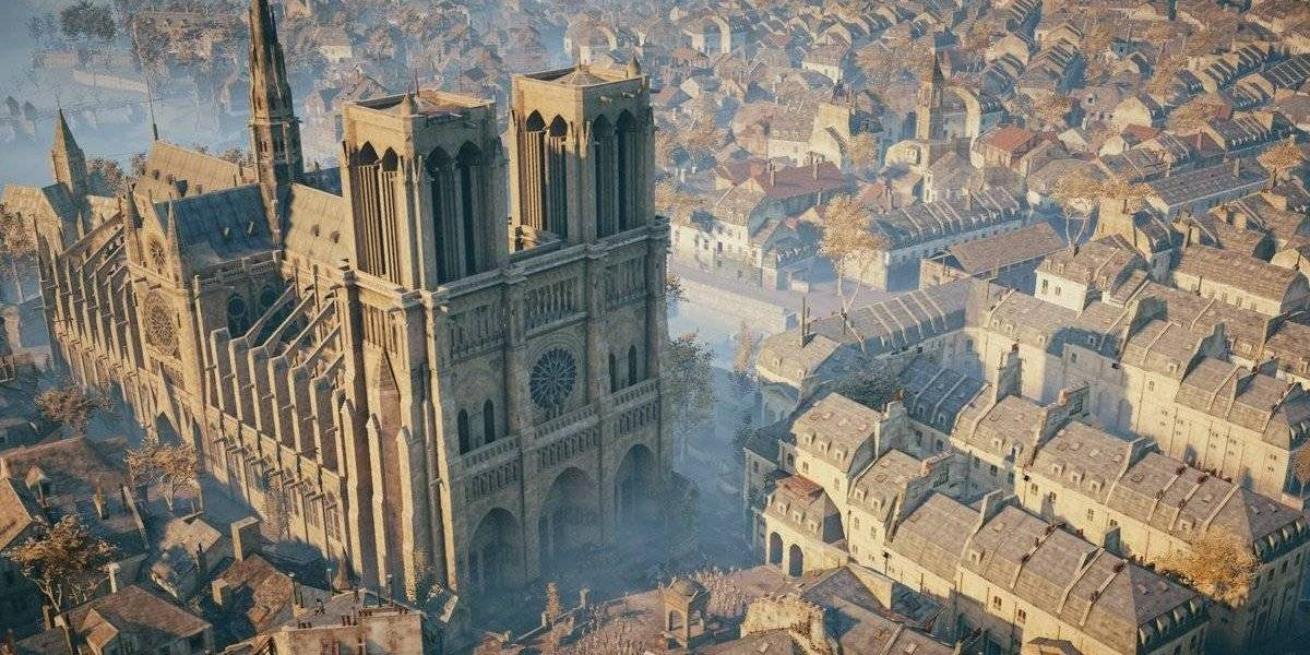 Assassins Creed Unity sería pieza clave para restaurar Notre Dame