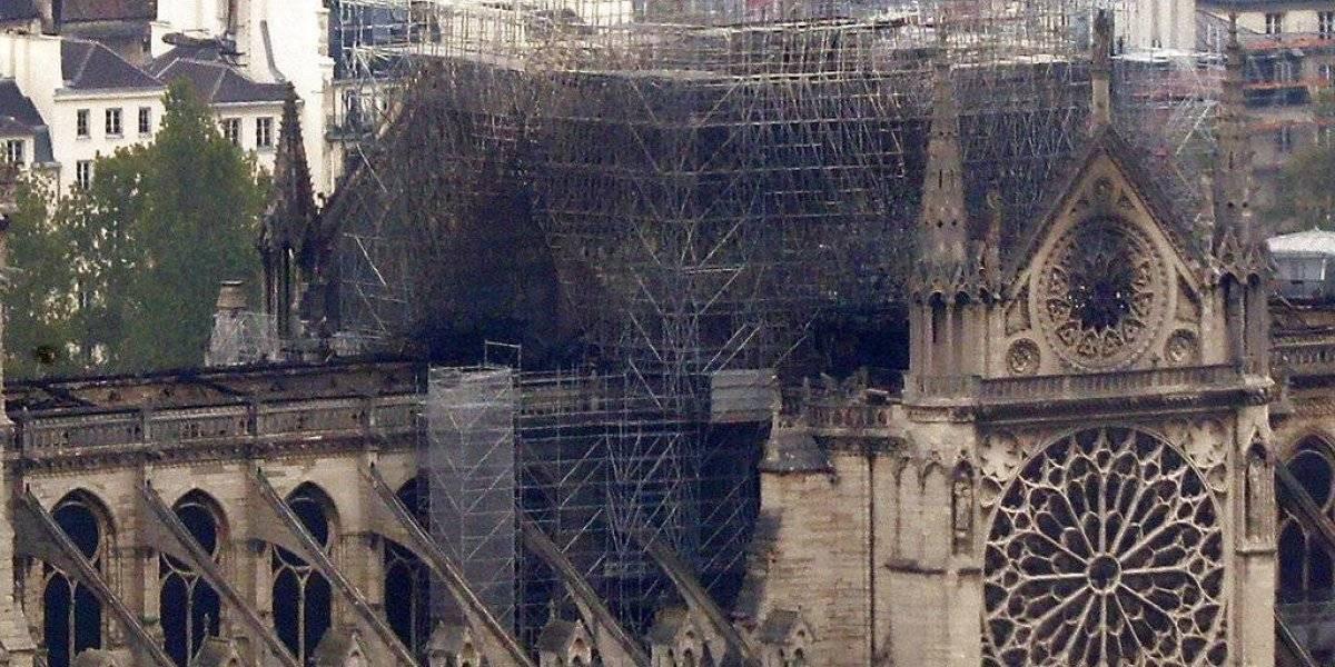 Lo que se salvó y lo que se dañó del incendio en Notre Dame