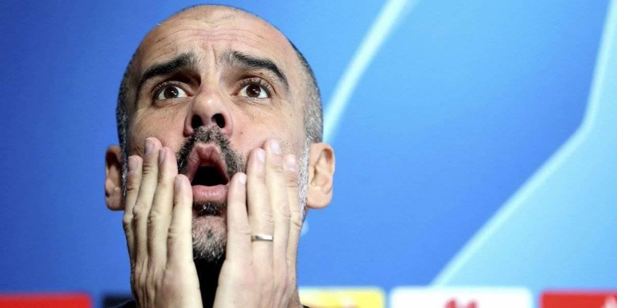 """Guardiola se hace víctima e ironiza en el City: """"Soy un fracaso en la Champions"""""""