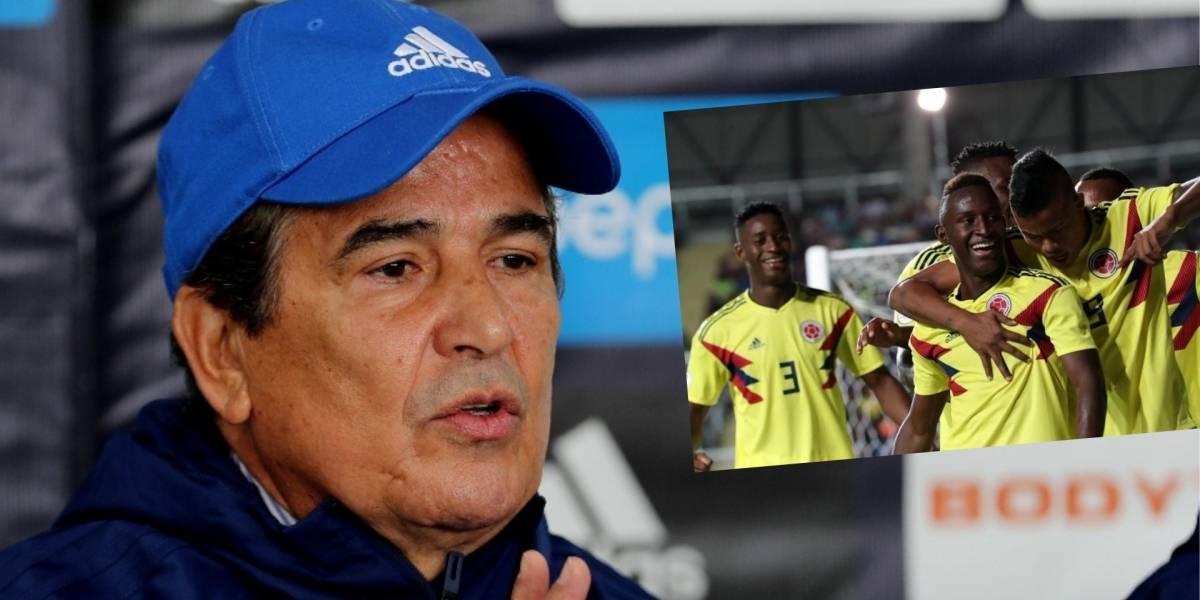 Pinto, molesto por falta de jugadores de Millonarios en Colombia Sub 20