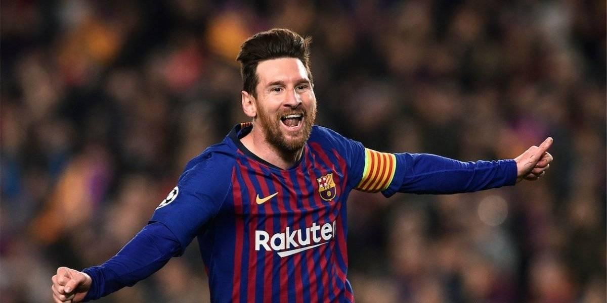 Messi rompe su maleficio y clasifica al Barcelona a las semis de la Champions