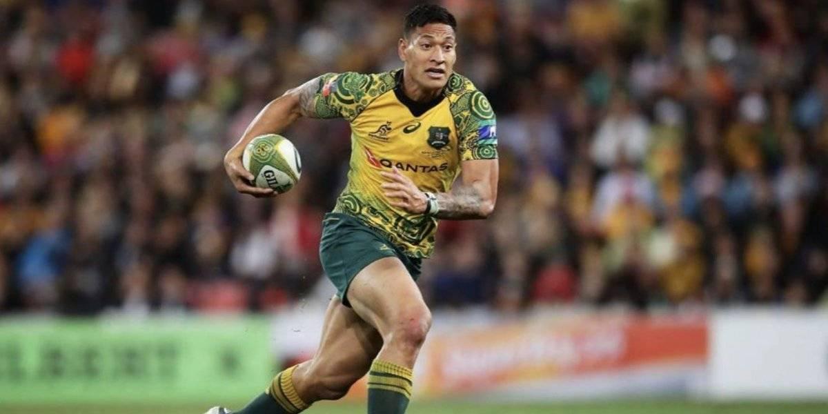 Cancelan contrato millonario a estrella de rugby por publicación religiosa