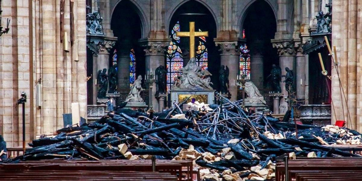 Estos tesoros de Notre Dame se salvaron del potente fuego