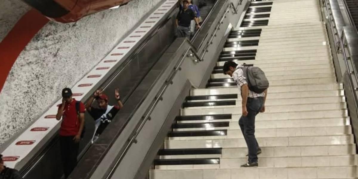 Algunas personas apagan las escaleras eléctricas del Metro de la CDMX a propósito