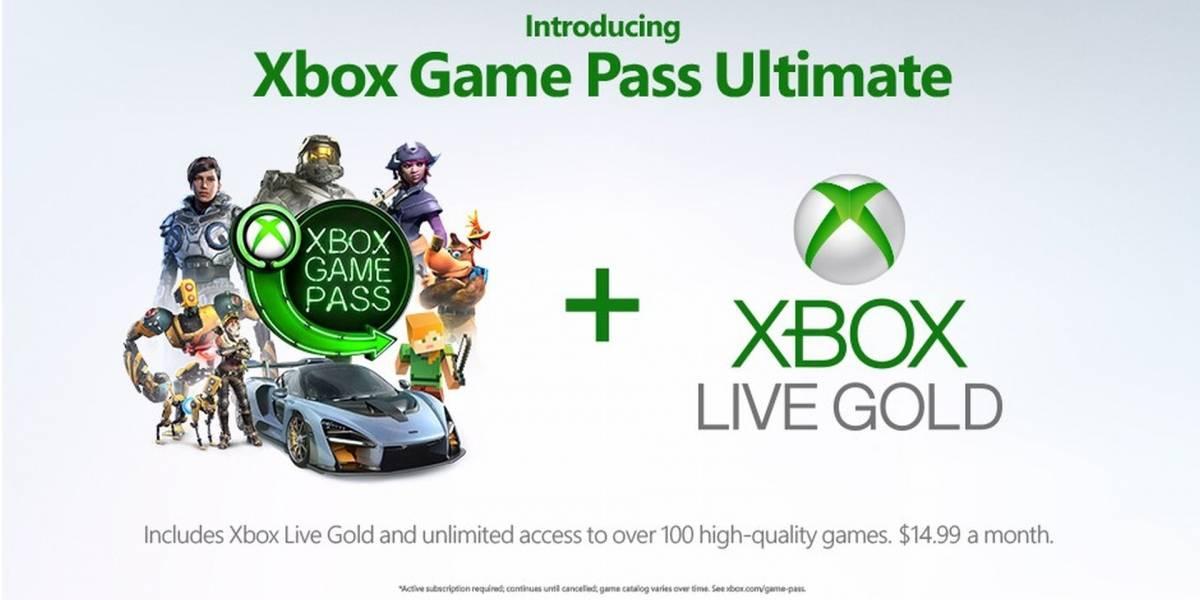Xbox Game Pass Ultimate es anunciado de forma oficial