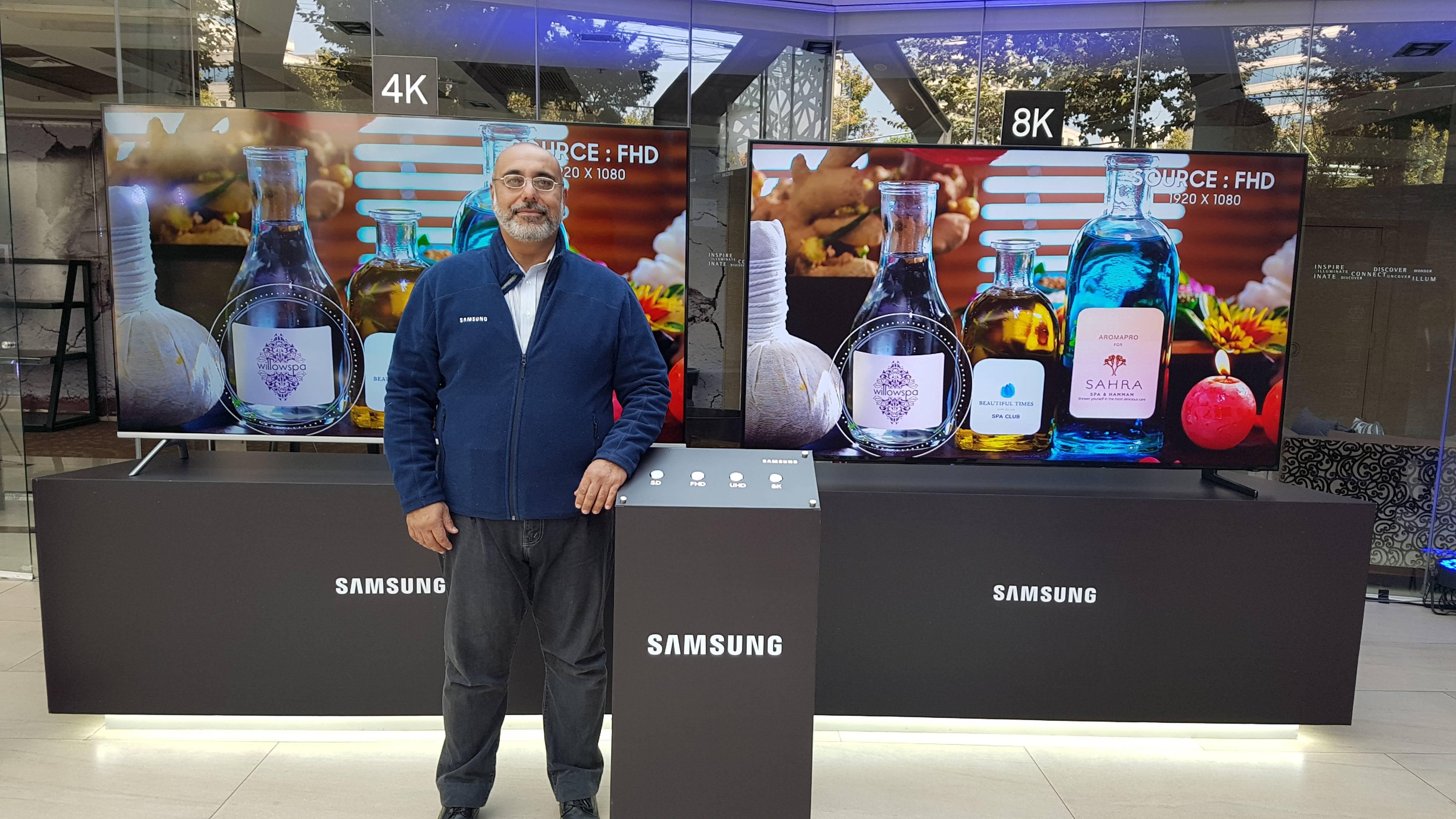 Samsung presenta en Chile su nueva gama de televisores con pantalla 8K