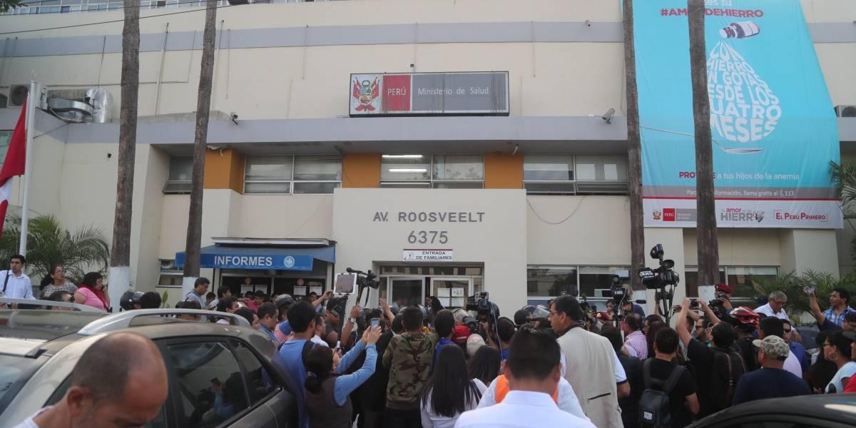 Expresidente de Perú, grave tras dispararse al ser detenido por el caso Odebrecht