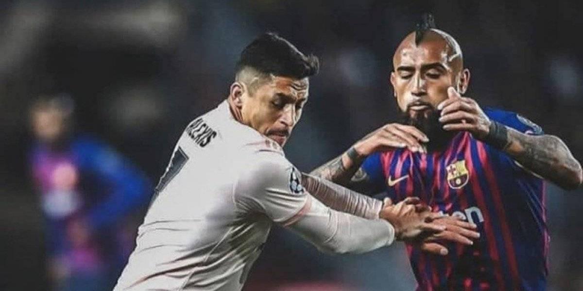 """El fraternal y emotivo mensaje de Vidal a Alexis: """"Qué bueno verte bien hermano"""""""