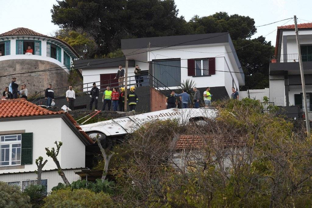 Accidente de autobús en Portugal