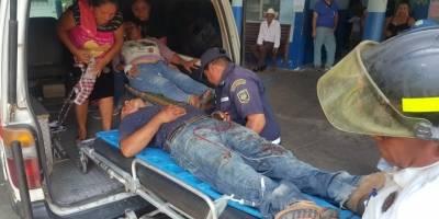 accidente de simpatizantes de la UNE en Zacapa