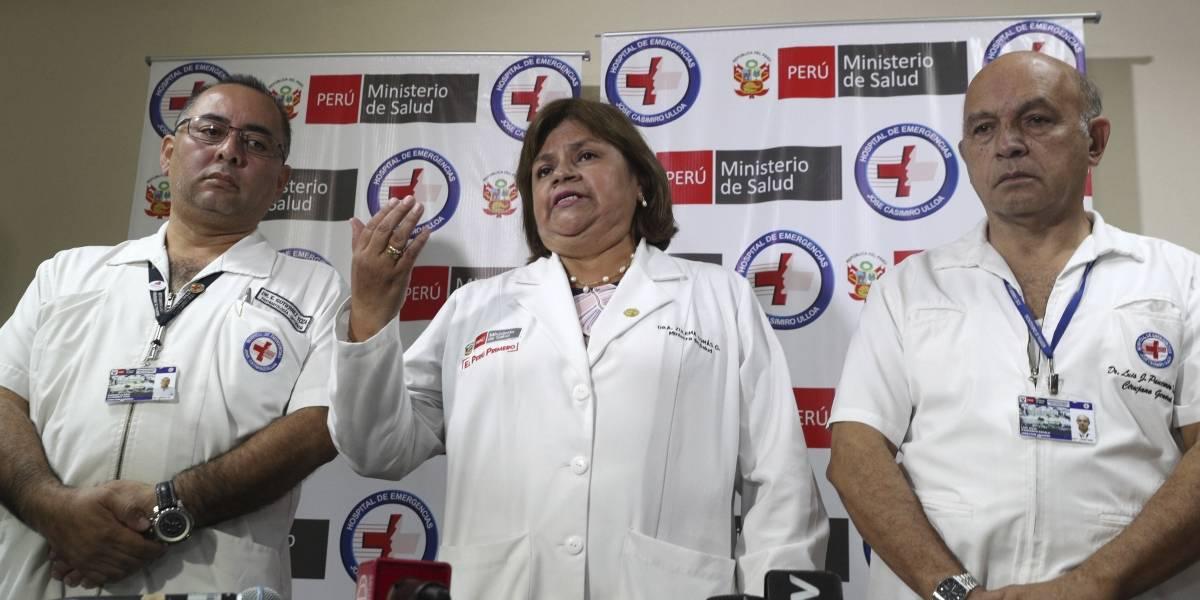 Parte médico de Alan García: Ha sufrido tres paros cardiorrespiratorios