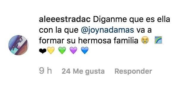 Quien es la esposa de Joy Huerta