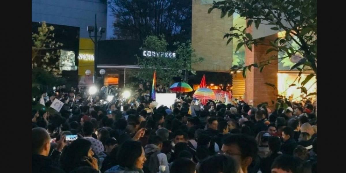 Denuncian presuntas agresiones en Besatón del Centro Comercial Andino