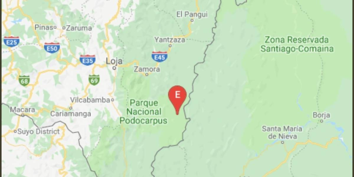 17 de abril: Sismo de 5.53 en Zamora Chinchipe