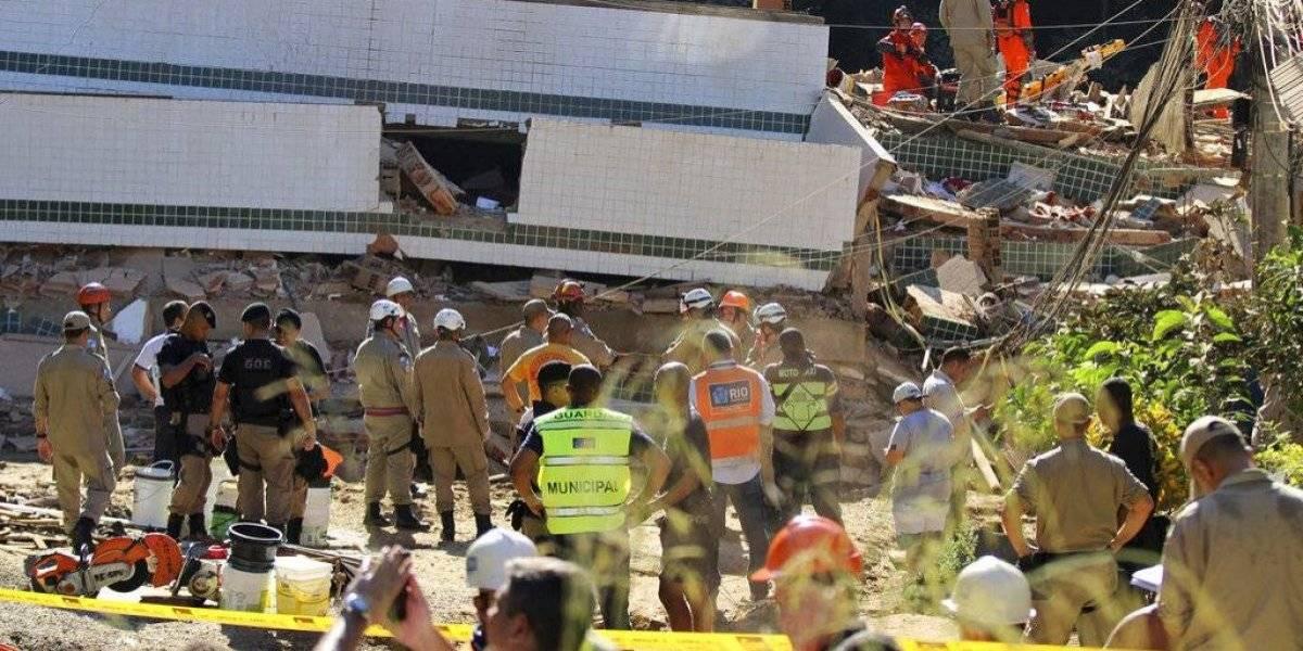 Llega a 20 la cantidad de víctimas mortales por derrumbe de edificios en Brasil