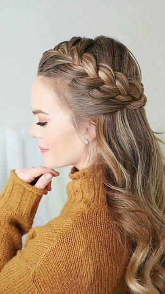 Peinados fáciles con cabello suelto