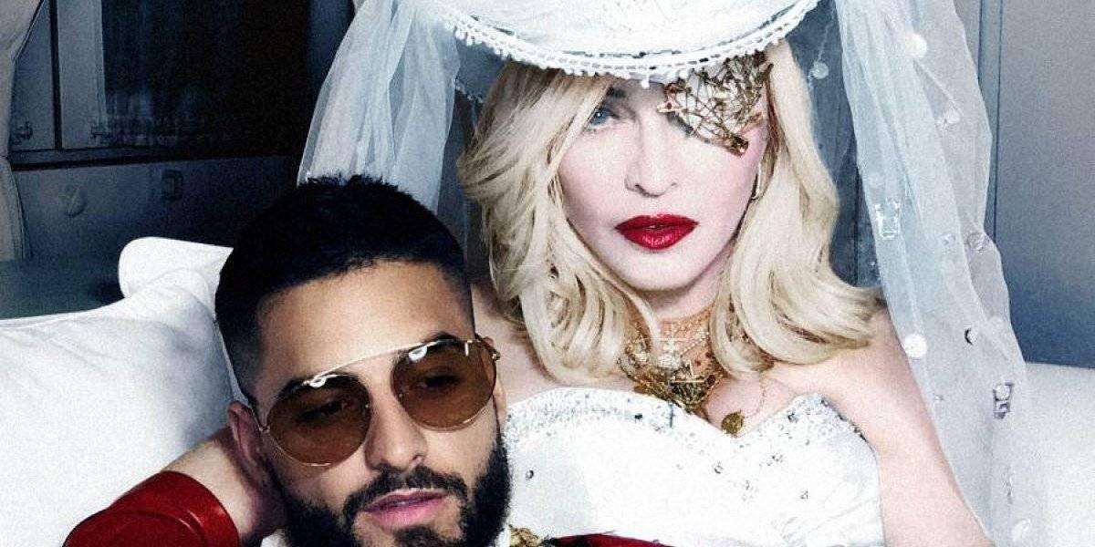"""La sorpresa de Madonna con Maluma al ritmo de """"Medellín"""""""
