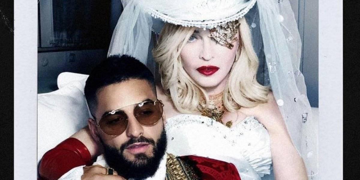 Maluma y Madonna estrenan canción juntos ¡Así se escucha!