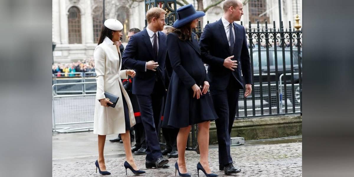 Admiradores aguardam ansiosos a chegada do novo bebê real britânico