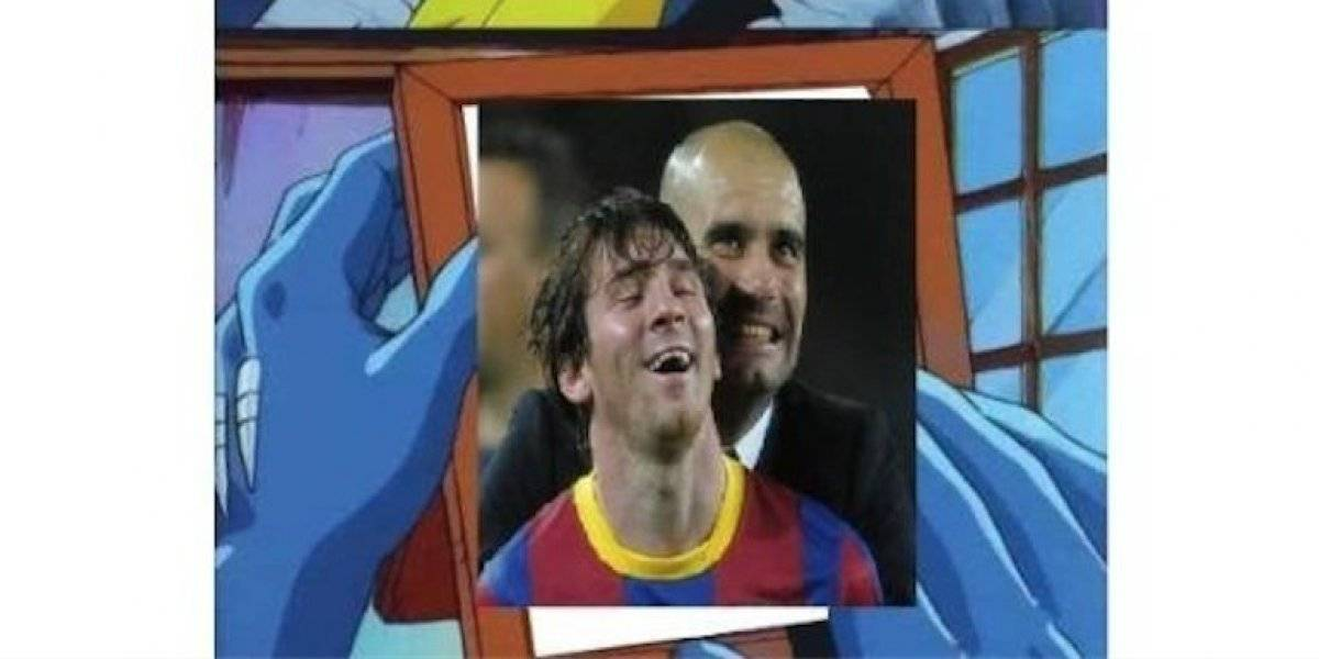 Con memes destrozan a Pep Guardiola tras su eliminación de la Champions