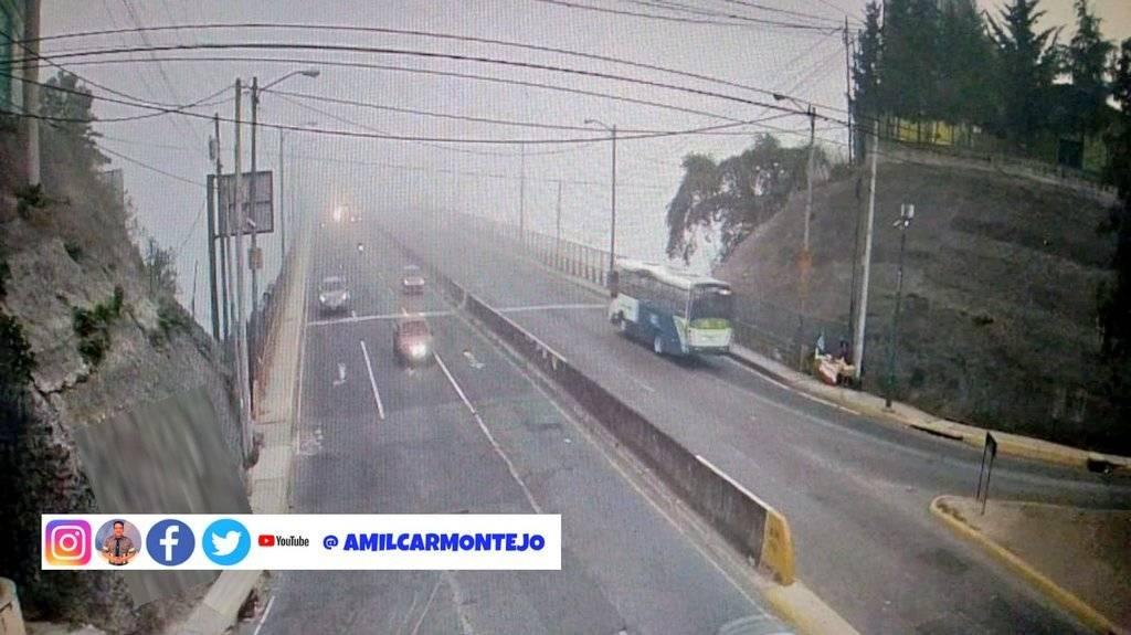 neblina en la Ciudad de Guatemala