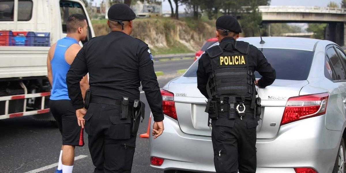 PNC despliega más de 42 mil agentes por Semana Santa