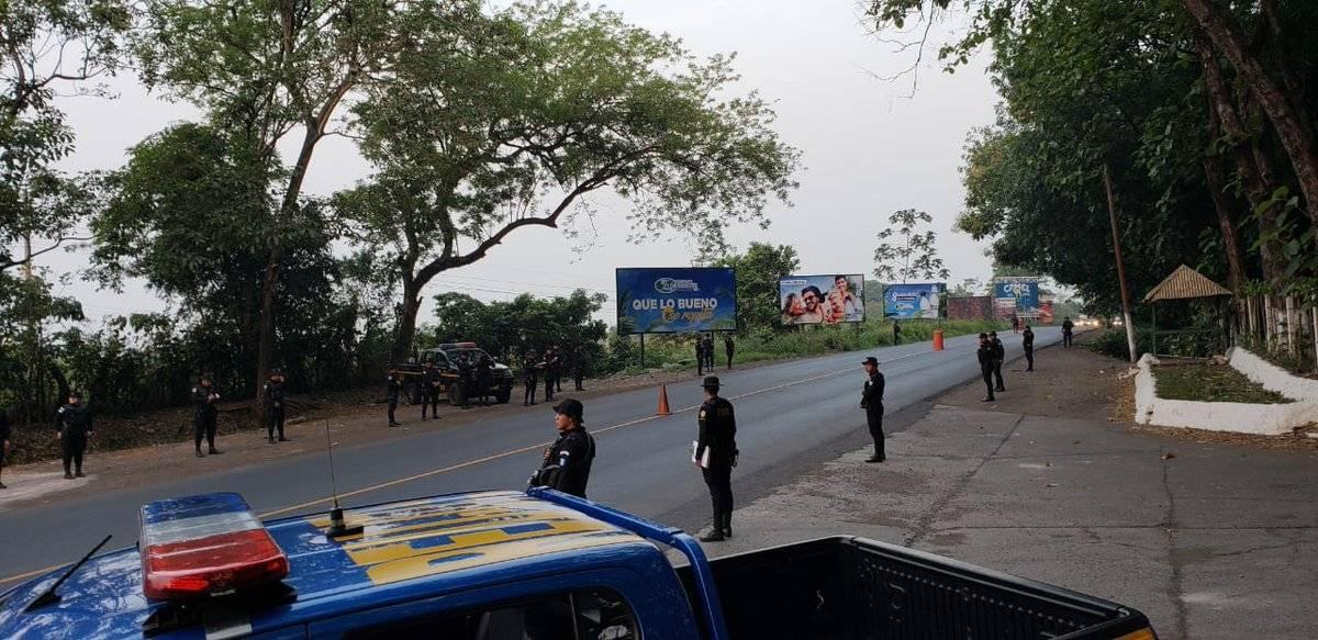PNC realiza operativo de seguridad en Semana Santa