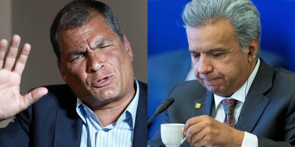 """Rafael Correa le responde a Lenín Moreno: """"El que pronto irá a la cárcel es él"""""""