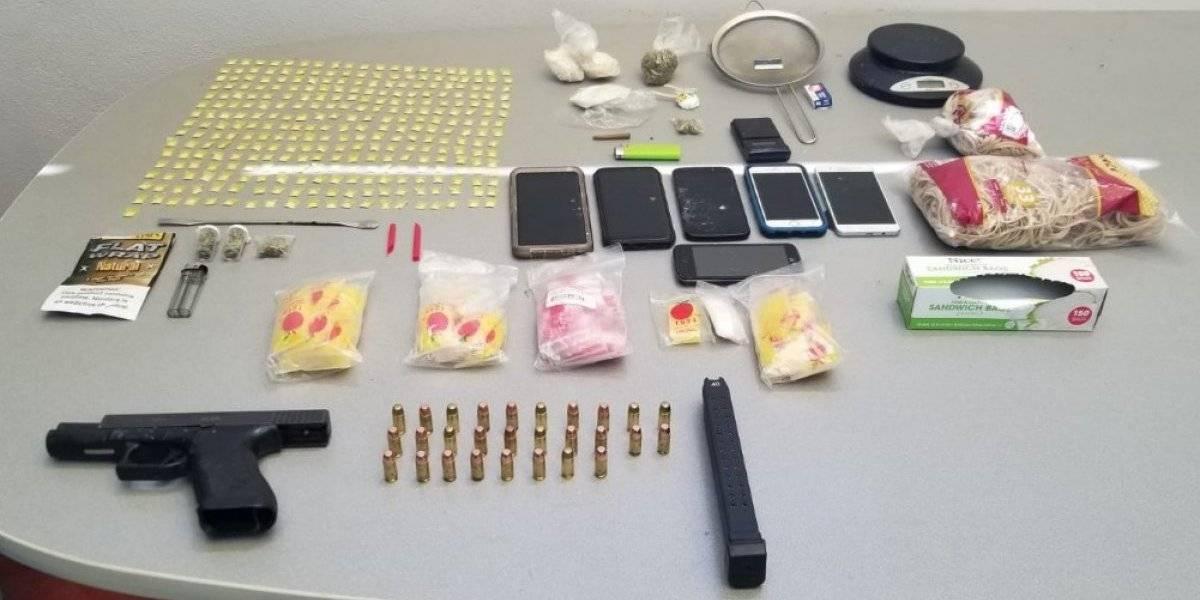 Federales asumen caso de cuatro arrestados por armas y drogas en Ponce