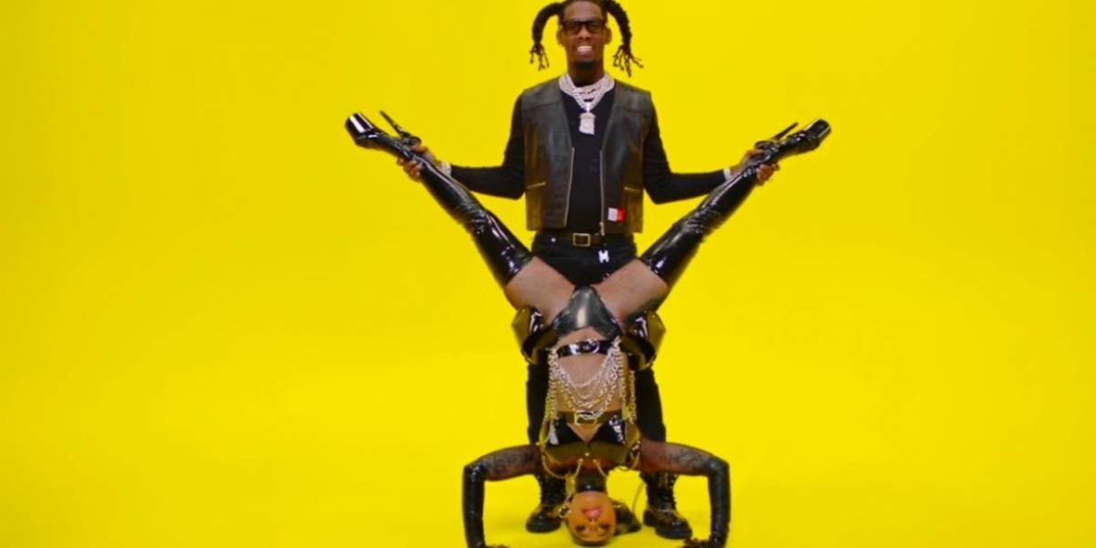 Cardi B faz parceria mais do que ousada com o rapper Offset; assista o clipe de 'Clout'