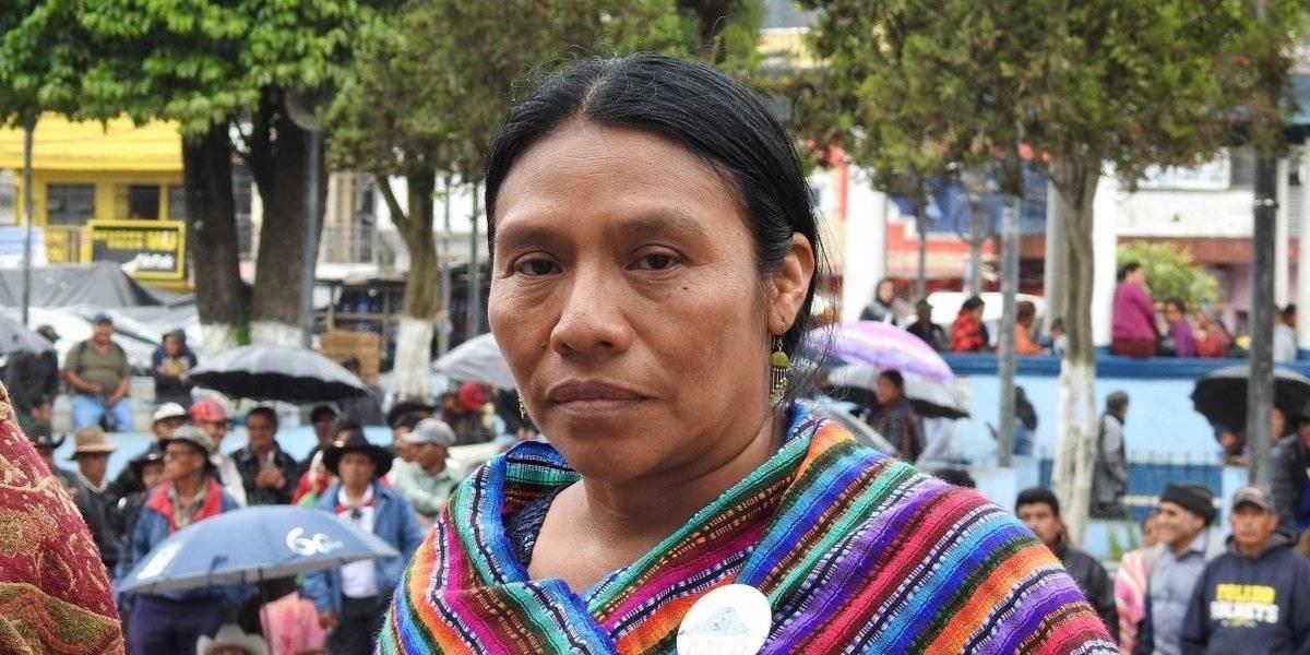 Señora Thelma Cabrera, usted se equivoca, yo con respeto disiento de sus ideas