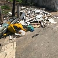 lixo rodovia imigrantes