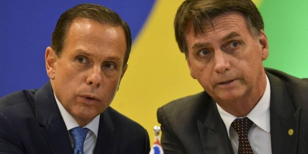 Doria confirma viagem para China com Bolsonaro, entre 3 e 10 de agosto