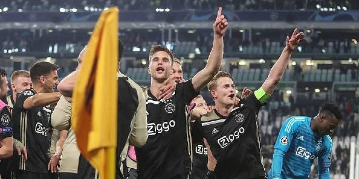 Champions League: Ajax se autoproclama campeón con esta imagen