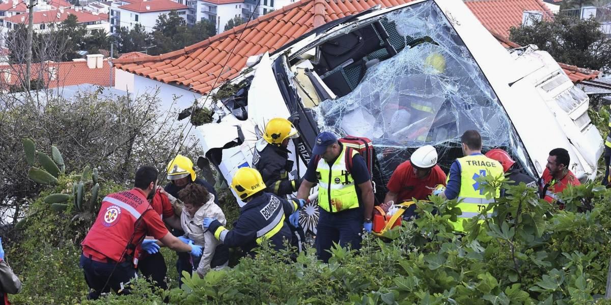 Accidente en Portugal deja 29 muertos