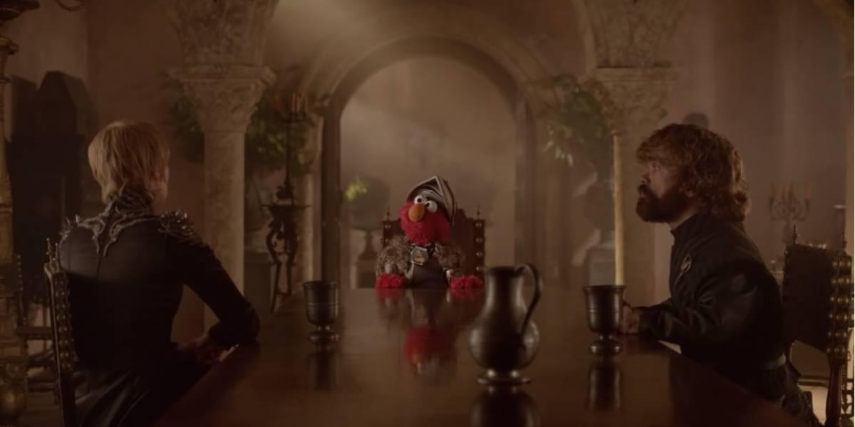 Game of Sésamo: em vídeo, Elmo encontra Tyrion e Cersei Lannister para botar ordem na casa