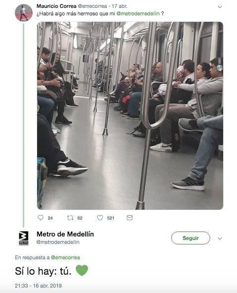 Metro de Medellín a hincha del América 1
