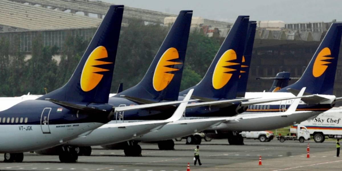 Companhia aérea Jet Airways cancela todos os voos e suspende operação