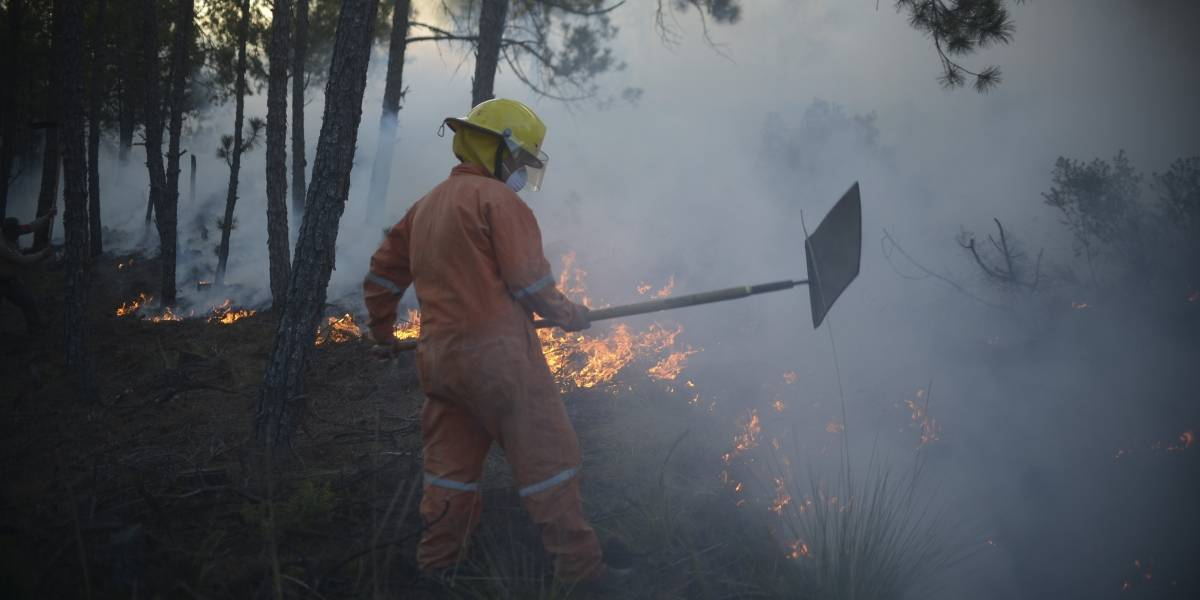 Alerta alta por incendios en 84% del país: SMN