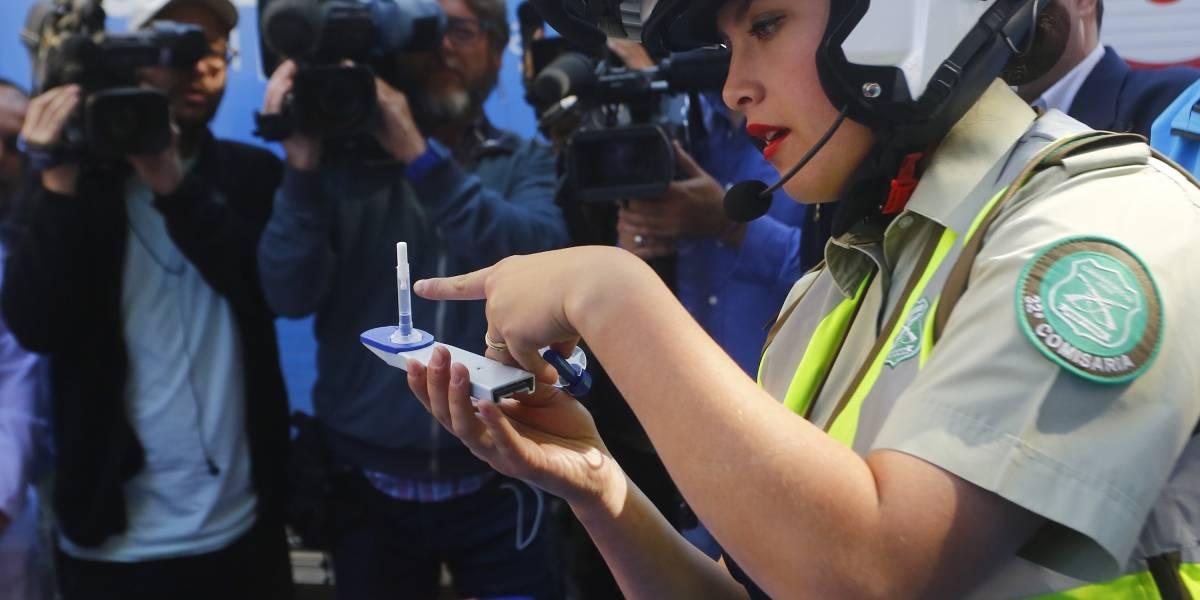 Revelan detalles del funcionamiento del nuevo narcotest que empieza a aplicarse hoy en Chile