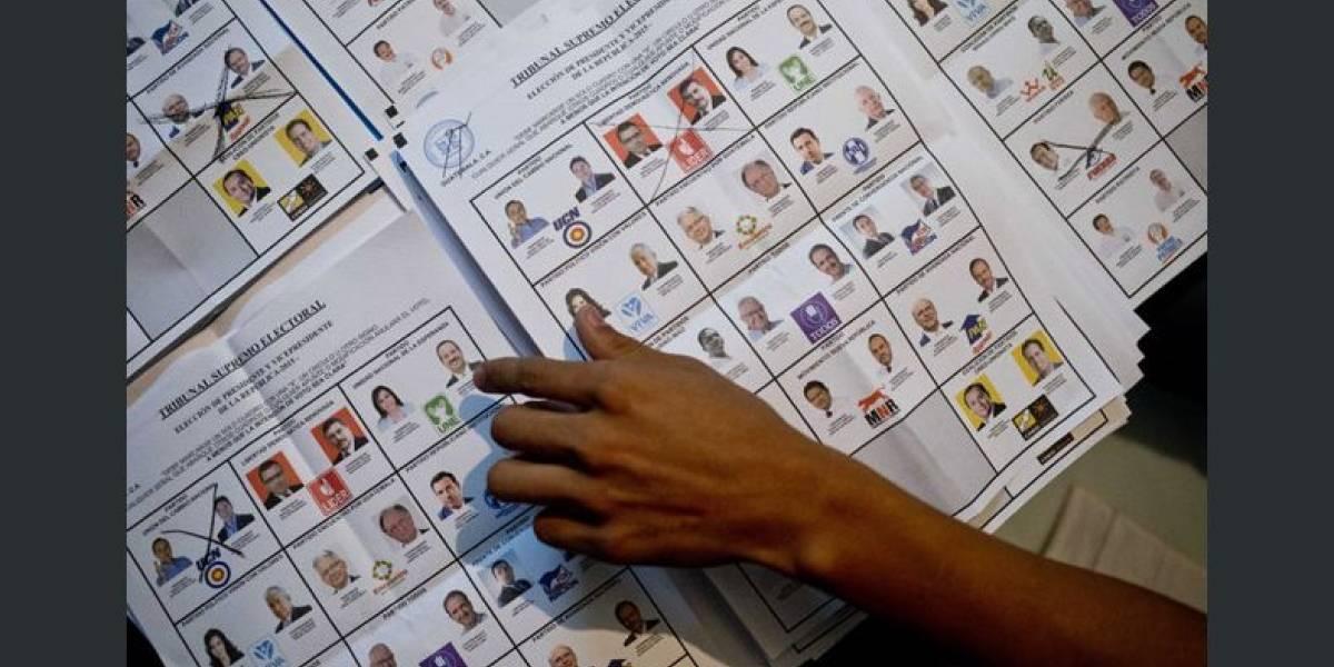 Piden fotos de presidenciables y alcaldes para imprimir papeletas