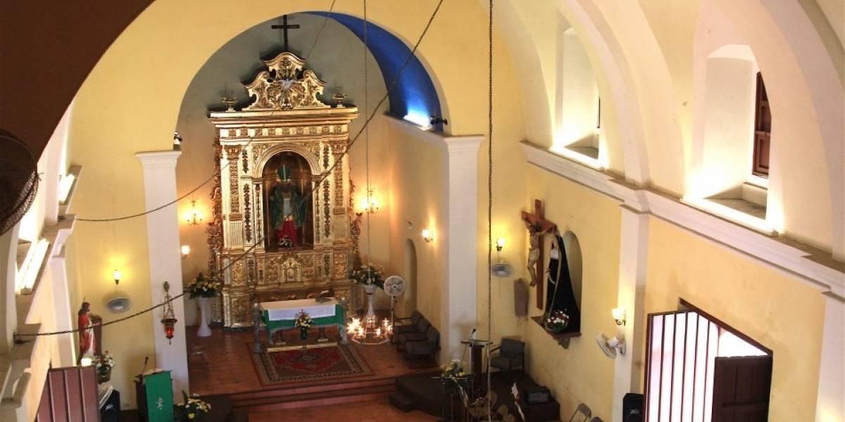 Loíza conmemora el Viernes Santo como hace 300 años en histórico templo