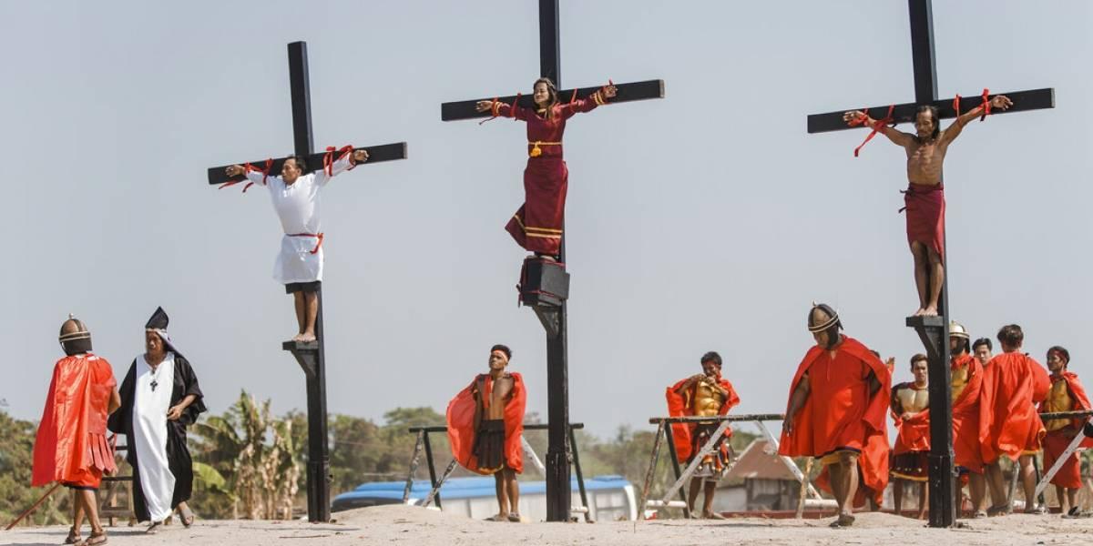 Crucifixiones en Filipinas por ritual de Viernes Santo