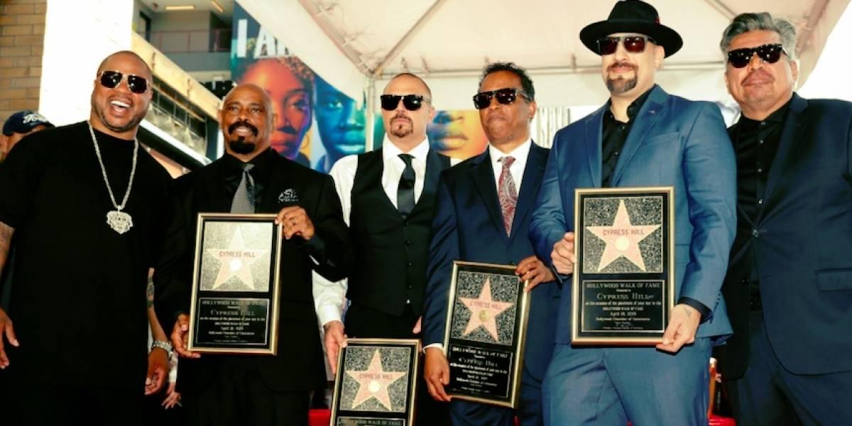 """""""Viva la raza"""": Cypress Hill consiguió una estrella en el Paseo de la fama de Hollywood"""