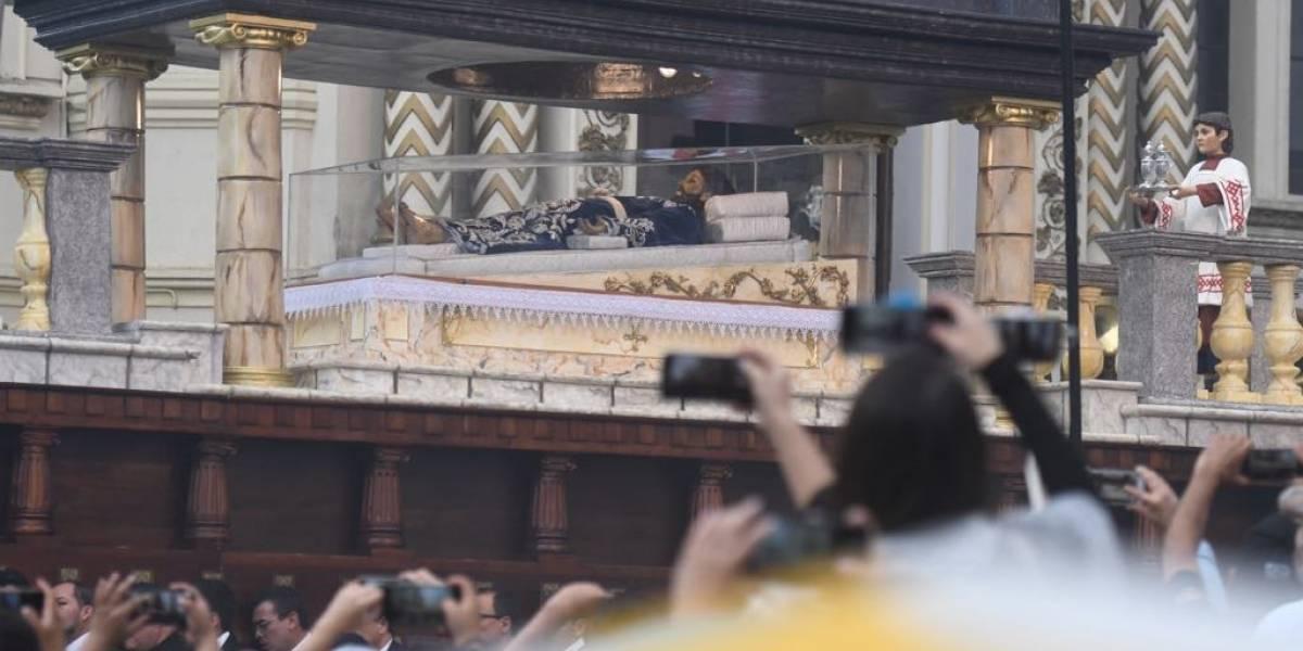 Cristo Yacente de El Calvario muestra una invitación a ser más eucarísticos