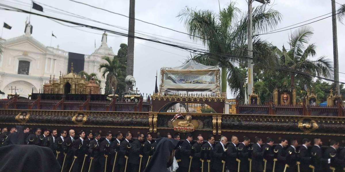 El Señor Sepultado de Santo Domingo enseña que Cristo dio su vida libremente
