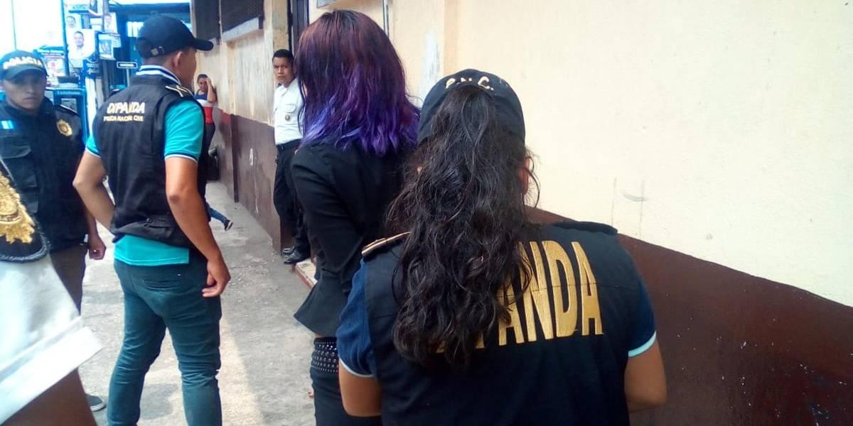 PNC: Detenida intentaba prostituir a una adolescente en una cárcel
