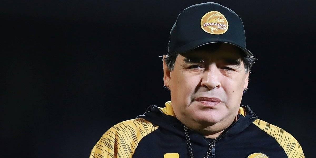 Maradona se retracta y asegura estar 'a muerte' con Dorados