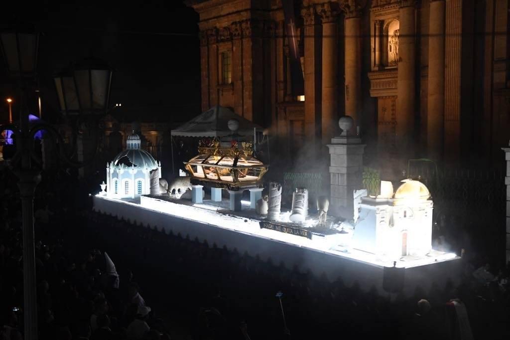 Señor Sepultado del Templo de San Francisco Omar Solís